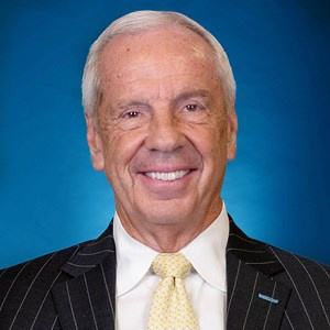 Roy Williams - Head Men's Basketball Coach, University of North Carolina